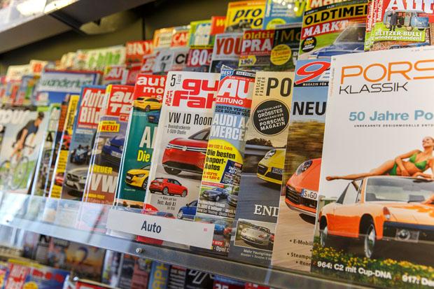 """""""Die Kunden kommen für ihre Zeitschrift zu Fuß in unsere Tankstelle"""""""
