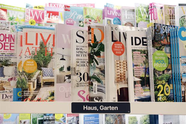 """""""Magazine regen Kunden an, weitere Produkte bei uns im Markt zu kaufen"""""""
